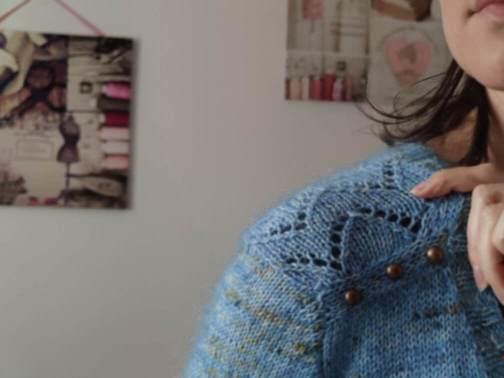 Achillée cardigan - Maloraé Designs