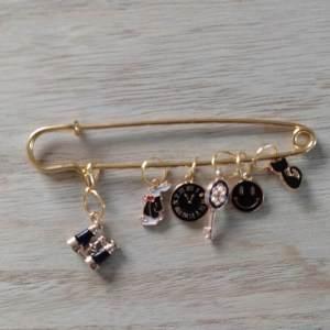 Lot anneaux marqueurs - Black and Gold 4 - Maloraé Designs