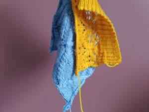 Échantillon tricot - Pourquoi le tricoter