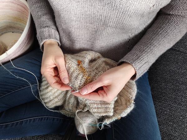 En-cours tricot - Maloraé Designs