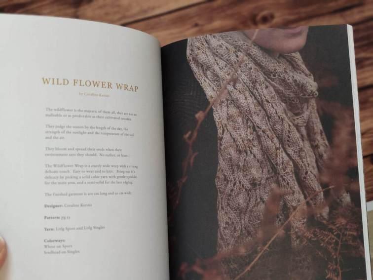 Wildflower wrap - Tricot- Maloraé Designs