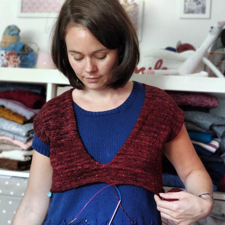 Comment choisir sa taille en tricot? - Maloraé Designs