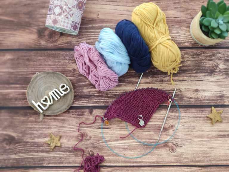 Couverture au tricot - Maloraé Designs - Épisode 22