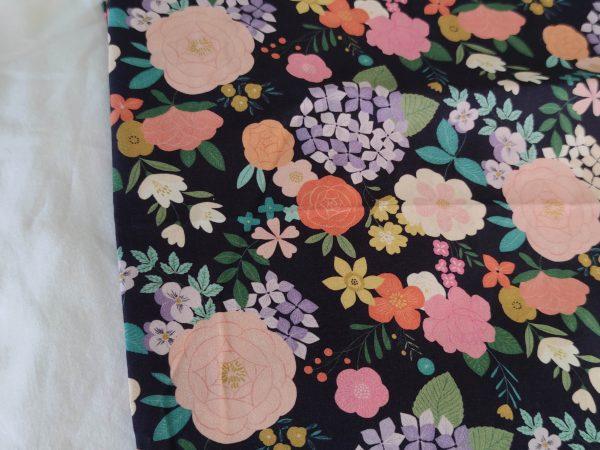 Précommande panier projets tricot - Choix tissu - Jardin - Maloraé designs