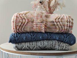 Modèles au tricot - Résumé de Mai - Les coulisses - Maloraé Designs