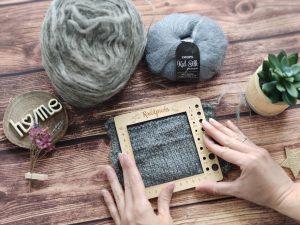 Échantillon tricot n°2 - Maloraé designs