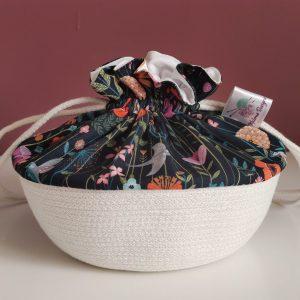 Panier projet tricot - Taille S - Printemps - Maloraé Designs