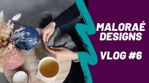 Projets secrets au tricot et paniers printaniers! (Vlog tricot #6) - Maloraé Designs