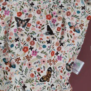 Panier projet tricot - Taille L - Papillons - Maloraé Designs