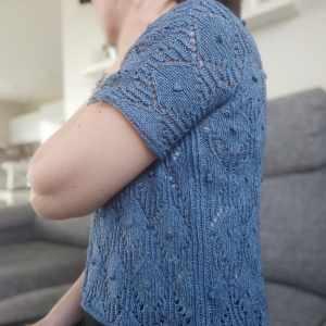 Lithoroda - Tee-shirt estival - Modèle tricot pour femme - Maloraé Designs