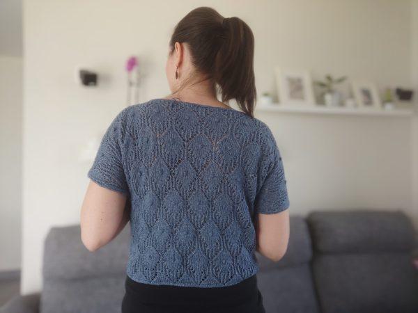 Lithoroda - Modèle tricot pour femme - Maloraé Designs