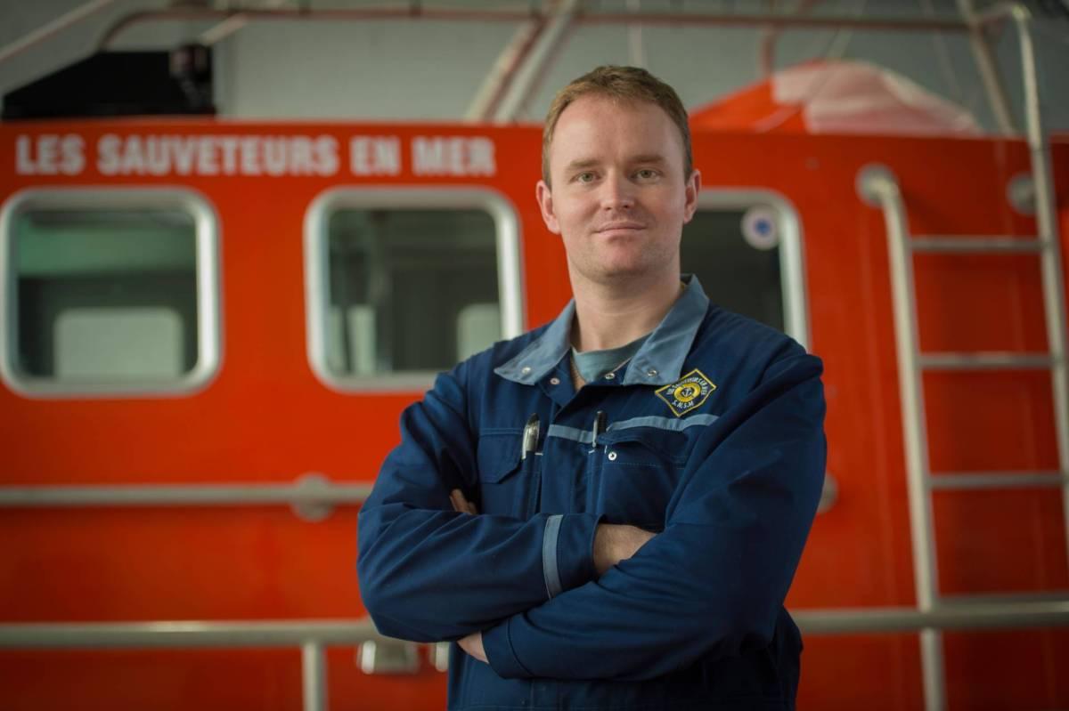 Jérôme, sauveteur de bateaux