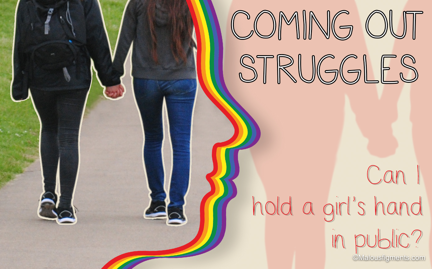 Coming Out Struggle: Can I hold a girl's hand in public?