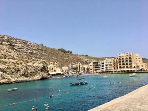 Xlendi Bay in Gozo(ゴゾ島のシュレンディベイ)