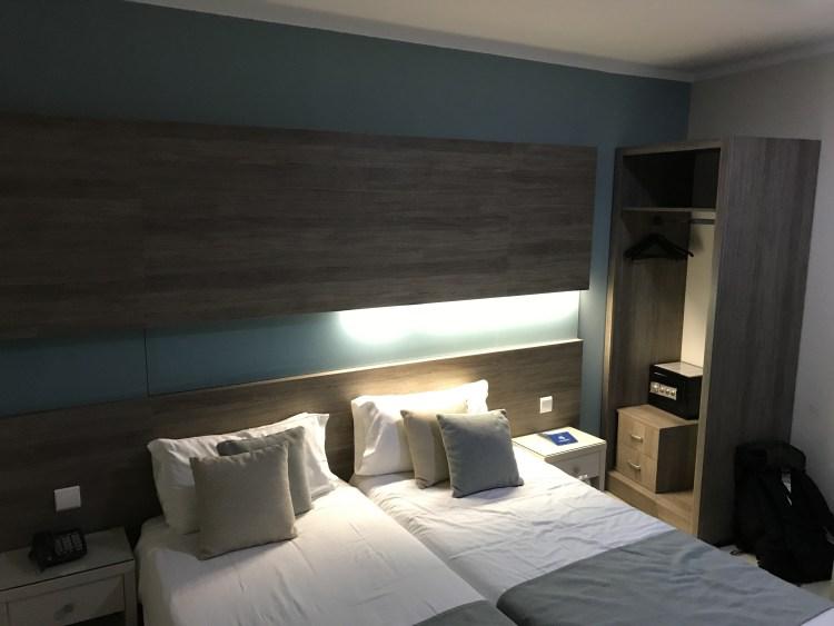 マルタのホテルの部屋