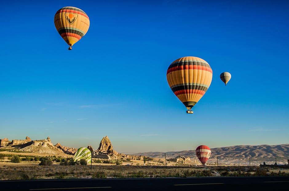 トルコで有名な気球