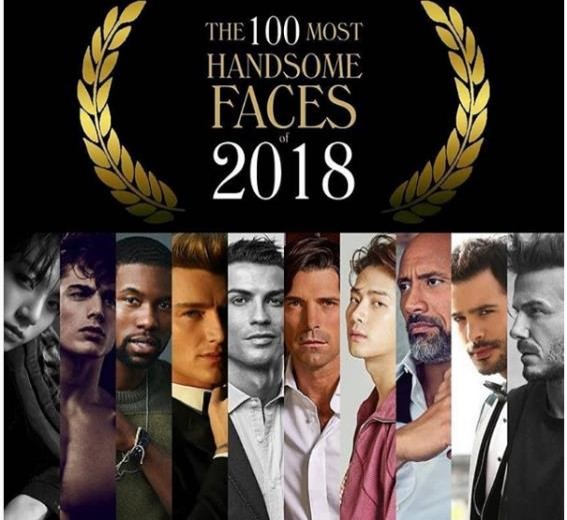 2018. the-most-handsome-face-100