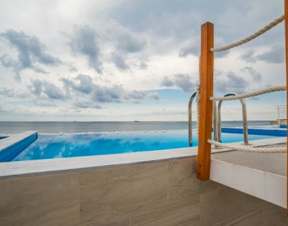 The Water Front - Stylish Sky Villa with Sea Views and Private Pool