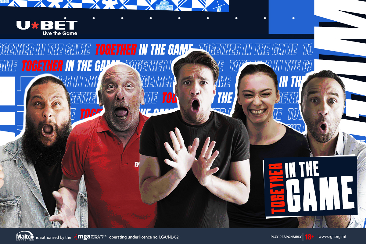 U*BET unveils its new marketing campaign – 'together in the game'
