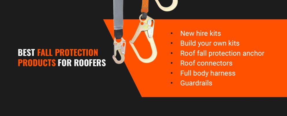 Best Fall Protection Products for Roofers