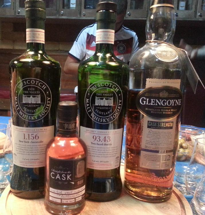 June 2014 Malt Mongers Cask Strength Tasting