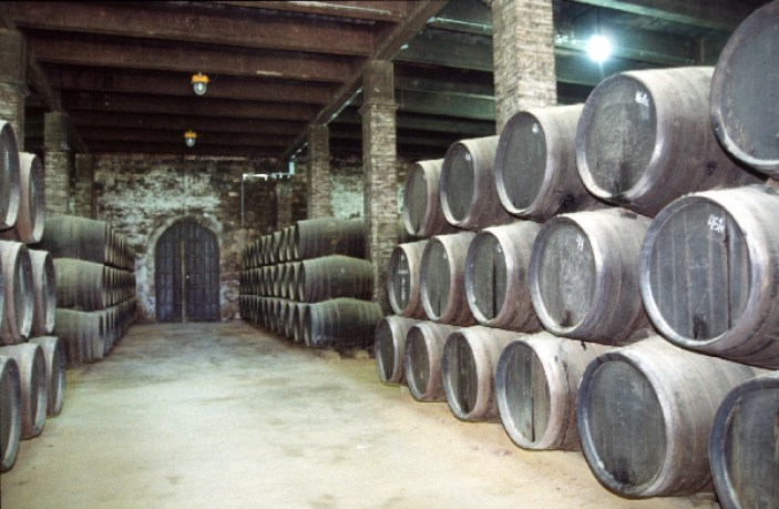 Sherry Casks Photo Credit: commons.wikimedia.org