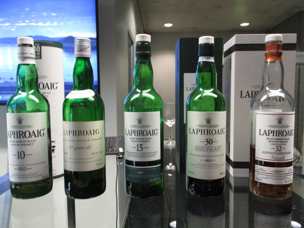 Laphroaig 200th Anniversary Tasting at TWE Whisky Show © Malt and Oak