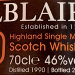 Balblair 1991 Single Sherry Cask 1712 – TWE Exclusive (51.9%)