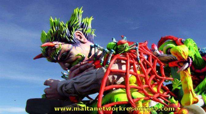 Malta Carnival 2014 Official Programme and Results- Karnival ta' Malta 2014 Programm Ufficcjali u Rizultati