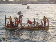 Senglea hajója a 2008-as regatta megnyerése után