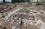 Tarxien keleti szélső templom körvonala