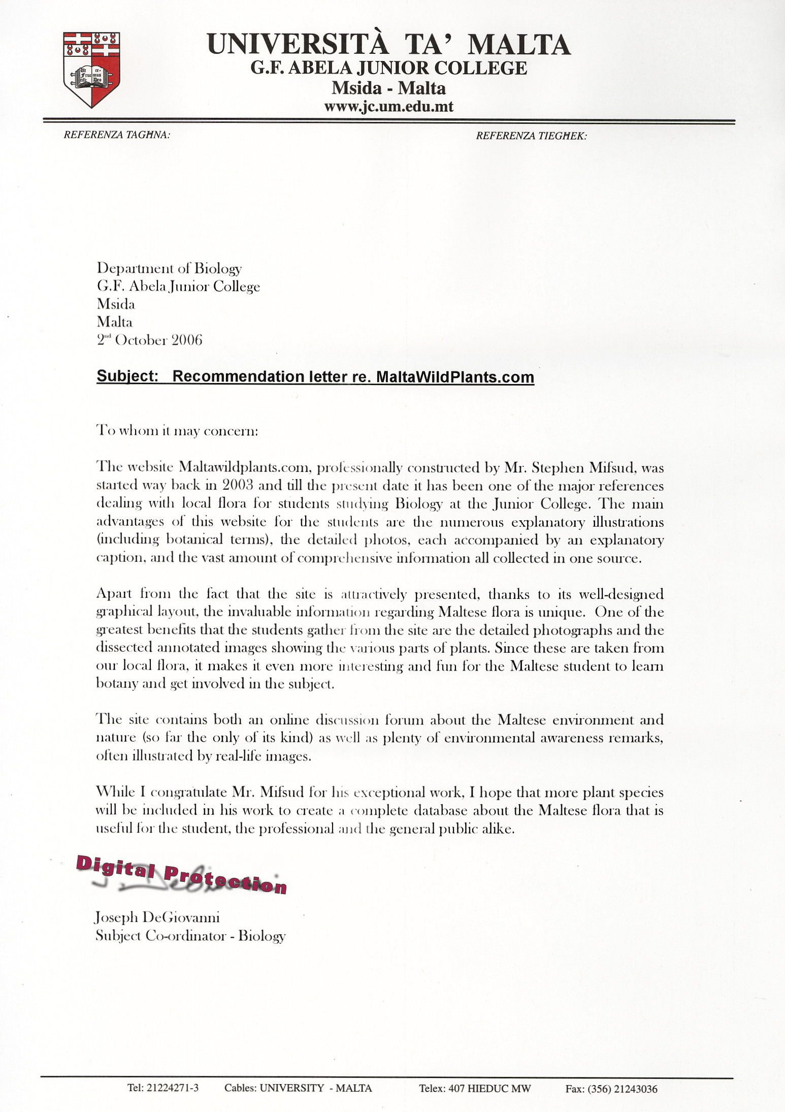 Sample Business Letter For High School Students