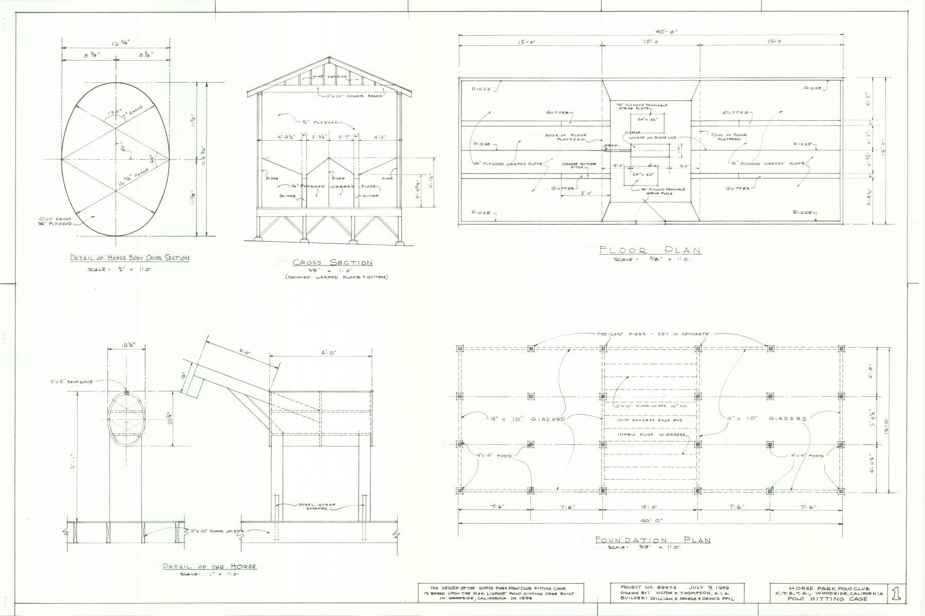 Hitting Cage Design