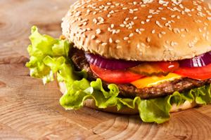 Food -photo of a burger