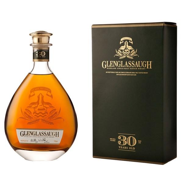 Bottle_Glenglassaugh 30 Year Old Box