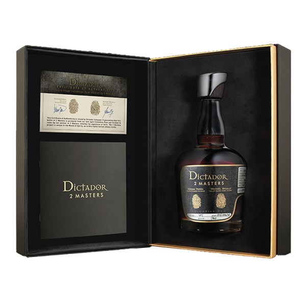 Bottle_Dictador 2 Masters Hardy Summer Blend 1976-1978 (Cognac) - Box