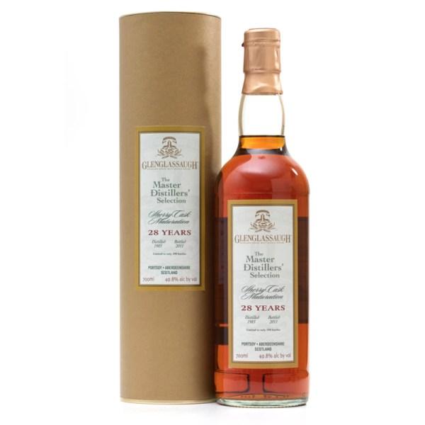 Bottle_Glenglassaugh 1983 28 Year Old Master Distillers Selection