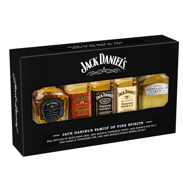 Bottle_Jack Daniels Family of Brands Miniature Pack - Front
