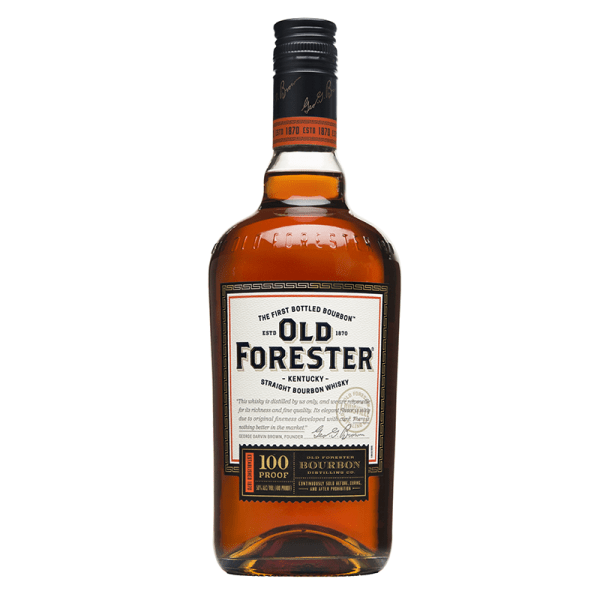 Bottle_Old Forester 100 Proof