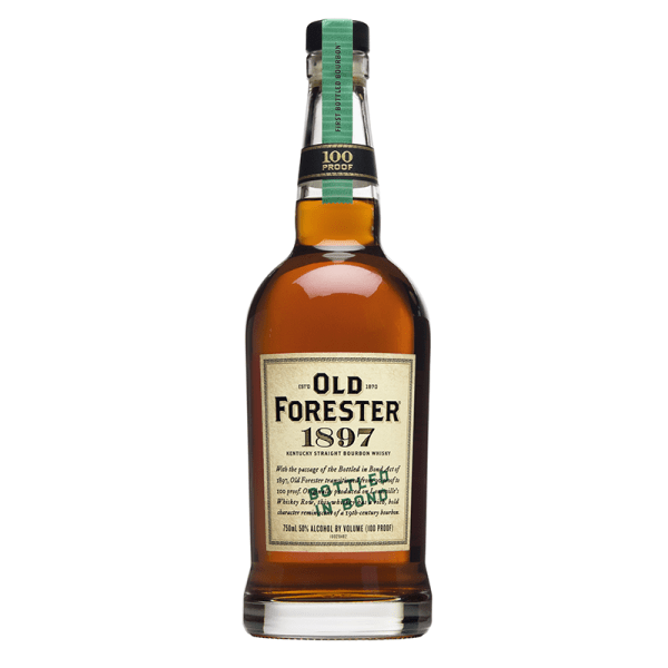 Bottle_Old Forester 1897 Bottled in Bond