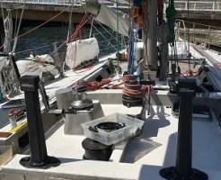ヨットを楽しむ  MALU SAILNIG  ヨットのメンテナンスに適した潤滑剤