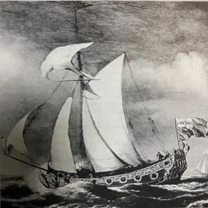 チャールズ2世のヨット