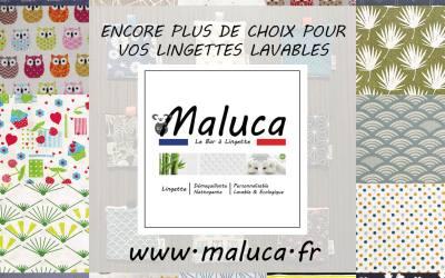 Nouvelle collection de tissus décors chez Maluca