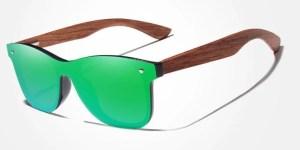 Óculos de Sol Masculino Armação em Madeira