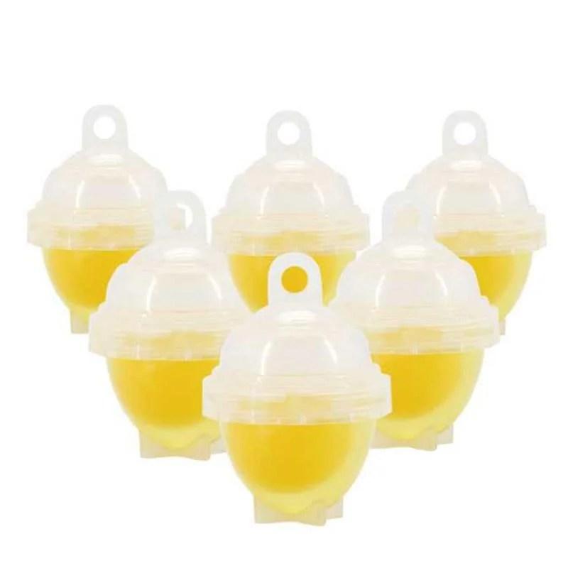 Copos de Silicone para Ovos (6 Pcs)