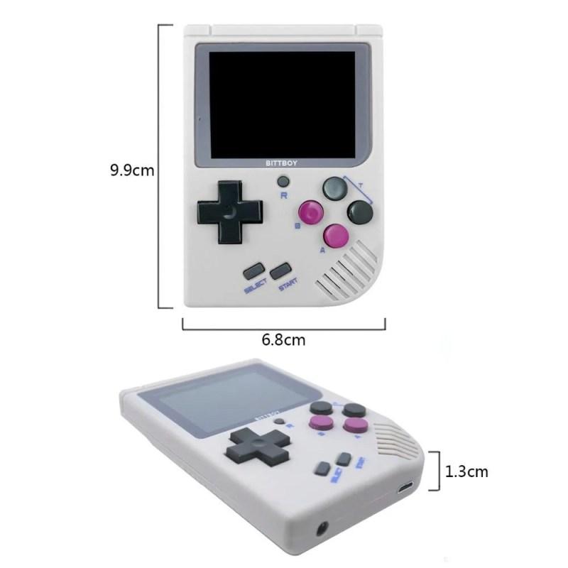 Super Game Retrô Novo BittBoy V3 - Os melhores momentos da sua Infância estão de Volta