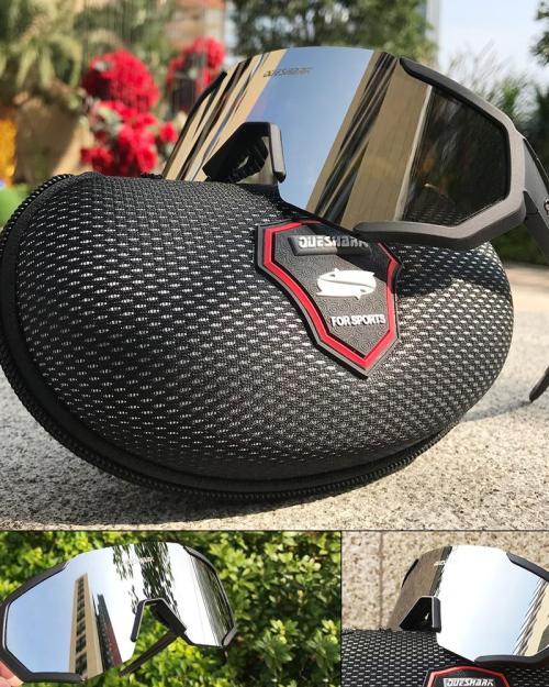 Óculos Ciclismo Queshark Novo Design 2019