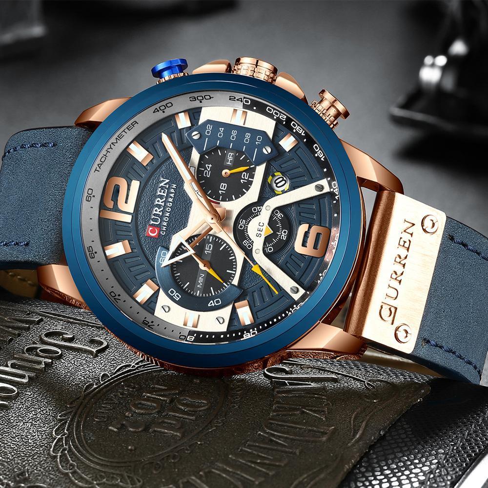 Relógio CURREN Golden Masculino