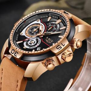 Relógio LIGE Brand Luxury