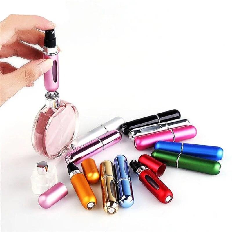 Mini Porta Perfume Recarregável